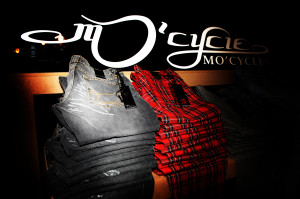MO'CYCLE jeans detail design by the artist Moses Shahrivar 2